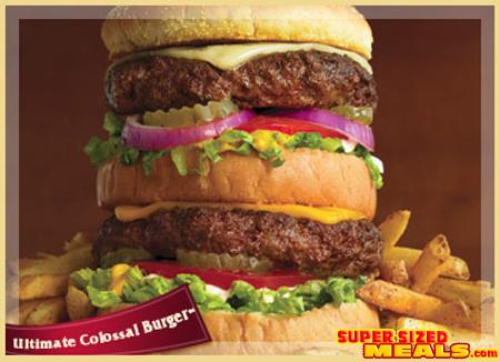 supersizedmeals com the ultimate colossal burger ruby tuesday