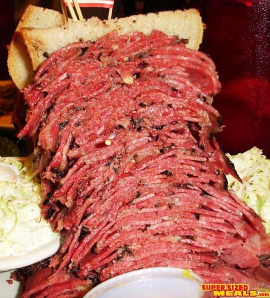 ... com - Grandpa Al and his Giant Sandwich, Harold's NY Deli, New Jersey