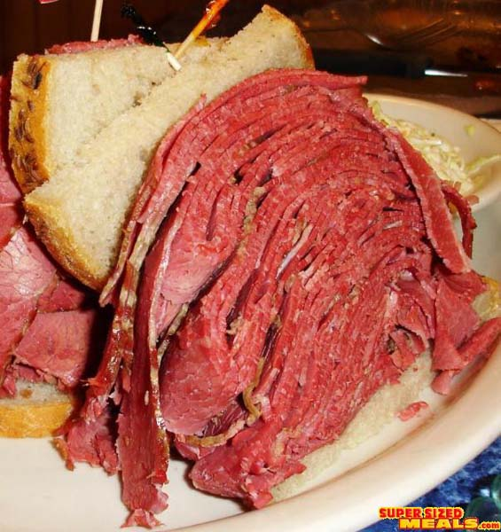 SupersizedMeals.com - Grandpa Al and his Giant Sandwich, Harold's NY ...