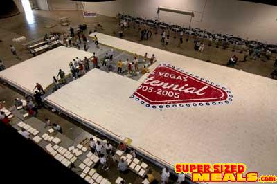 Worlds Largest Sheet Cake