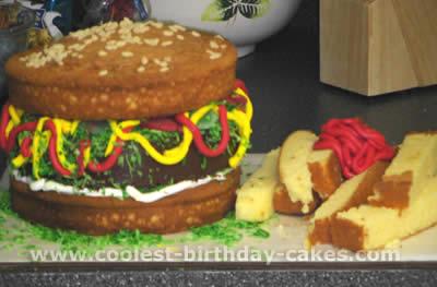 giant food birthday cake