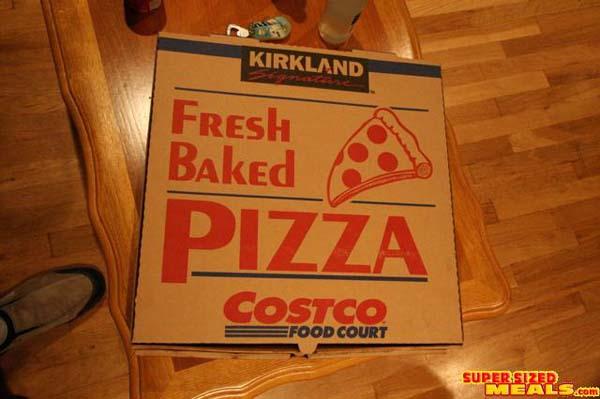 The Costco 18 Pizza Box